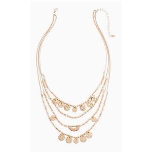 Torrid stacked necklace